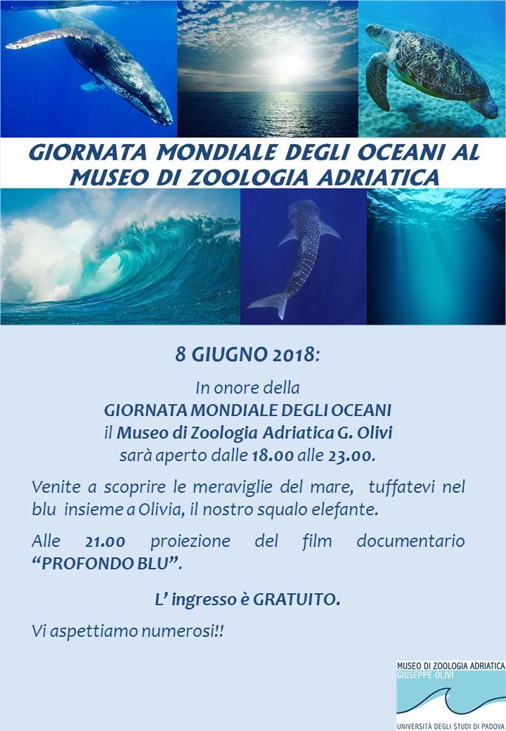 giornata mondiale degli oceani 2018