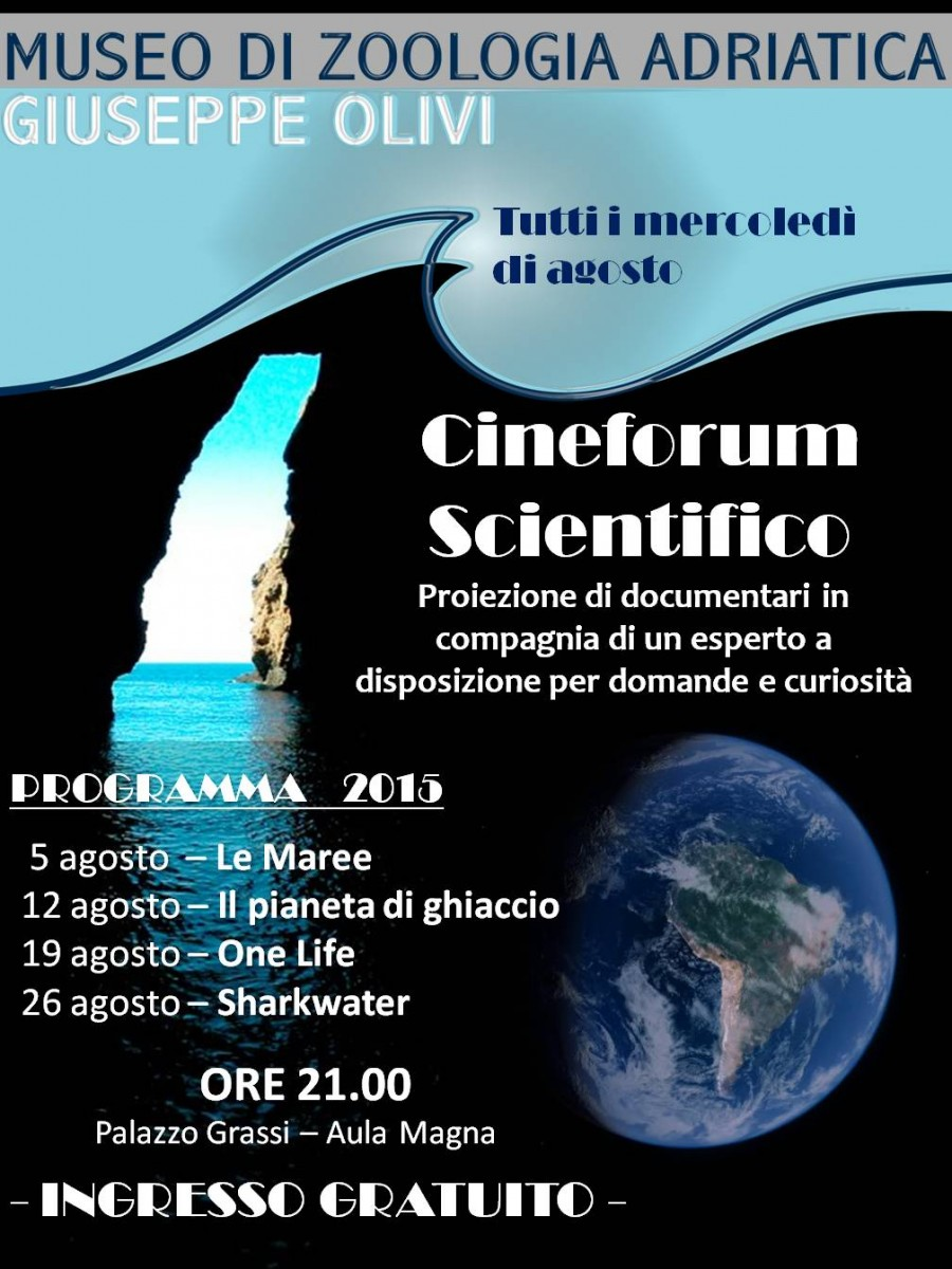 locandina cineforum scientifico